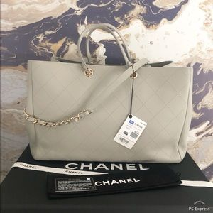 CHANEL Bags - New Chanel 2019 Bullskin CC Large Shopping Tote